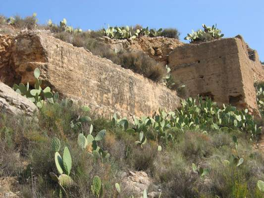 Restos arqueológicos del Castillo de la Mota