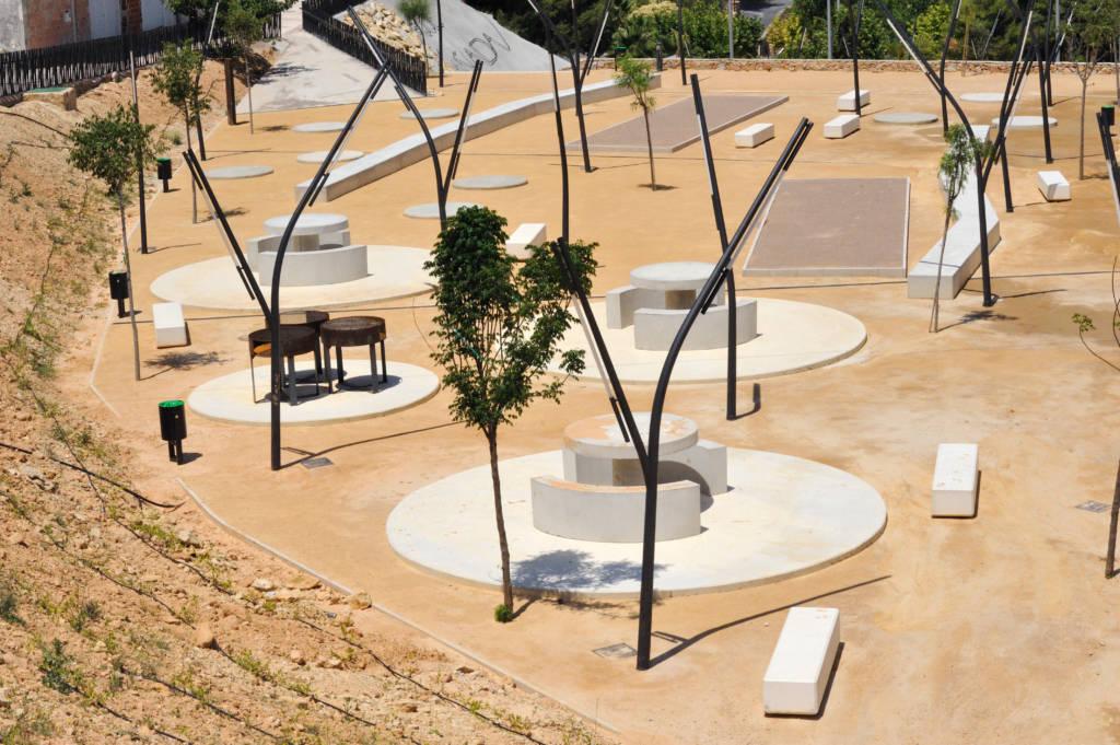 Parque de las Cañadas de Pliego