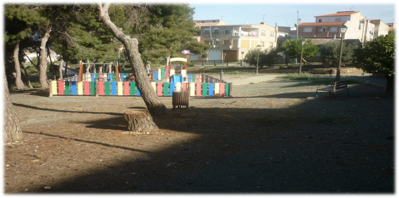 parque de los pinos de Pliego