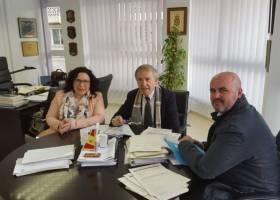 reunión coordinación protección civil