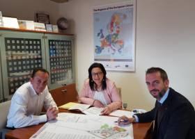 reunión dir general proyectos europeos