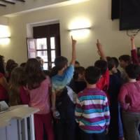 Visita escolar al Ayuntamiento