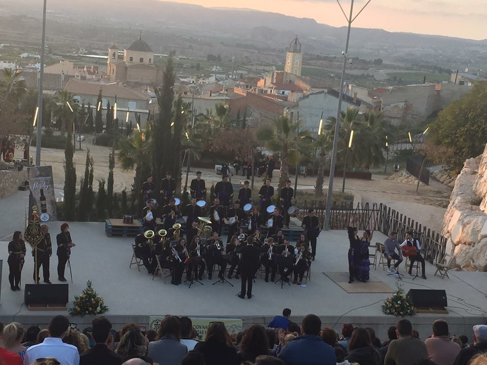 """Celebración de la XIII Concentración Nacional de Bandas de CCTT """"Ciudad de Rosas"""" de Pliego (26/03/2017)"""