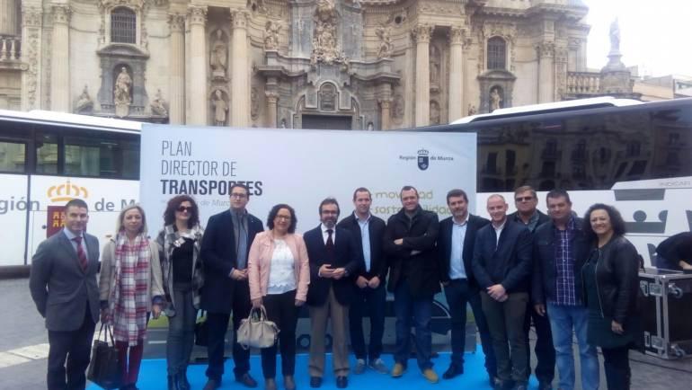 PRESENTACIÓN DEL PLAN DIRECTOR DE TRANSPORTES DE LA REGION DE MURCIA (06/03/2017)