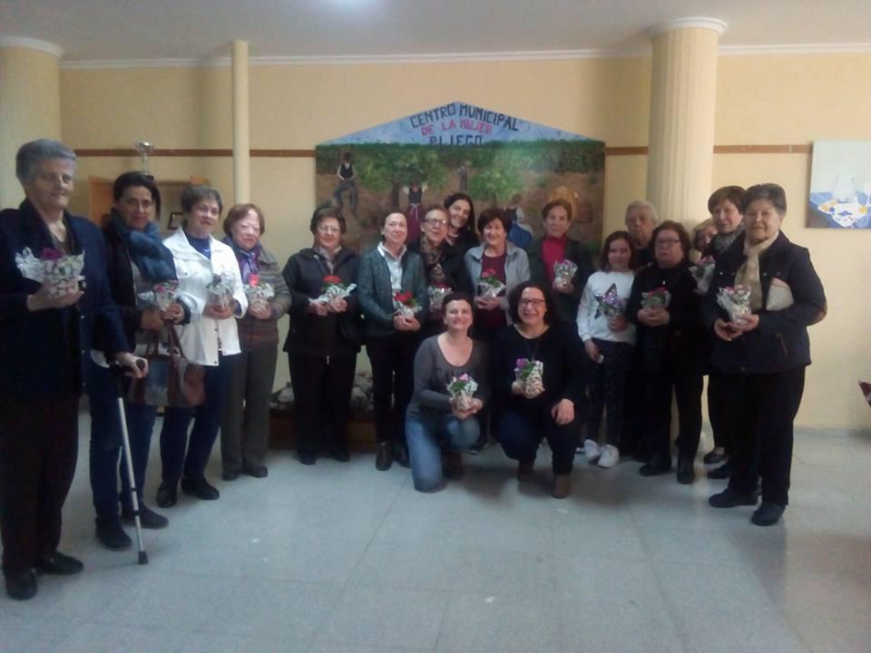 CAFE-CONVIVENCIA EN EL CENTRO MUNICIPAL DE LA MUJER -ACTIVIDADES DEL DIA INTERNACIONAL DE LA MUJER 2017