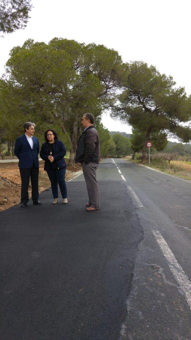Arreglo de carretera regional RM-C26
