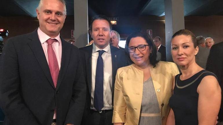 La Alcaldesa de Pliego asiste al Acto Institucional de Celebración del Día de la Región de Murcia