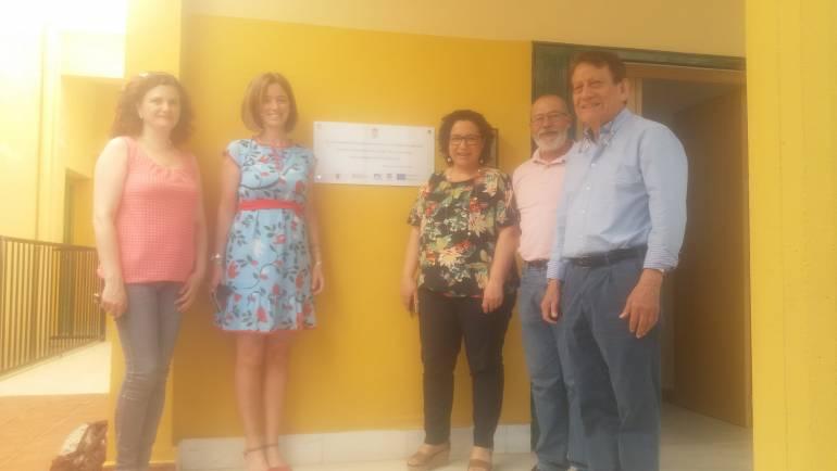 Visita a Pliego de la Secretaria General de la Consejería de Empleo, Universidades y Empresa Dª. María  Casajús Galvache.