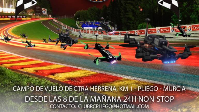 """Pliego acogerá el evento nacional """"II Open Drone Racing"""" del 23 y 24 de septiembre."""