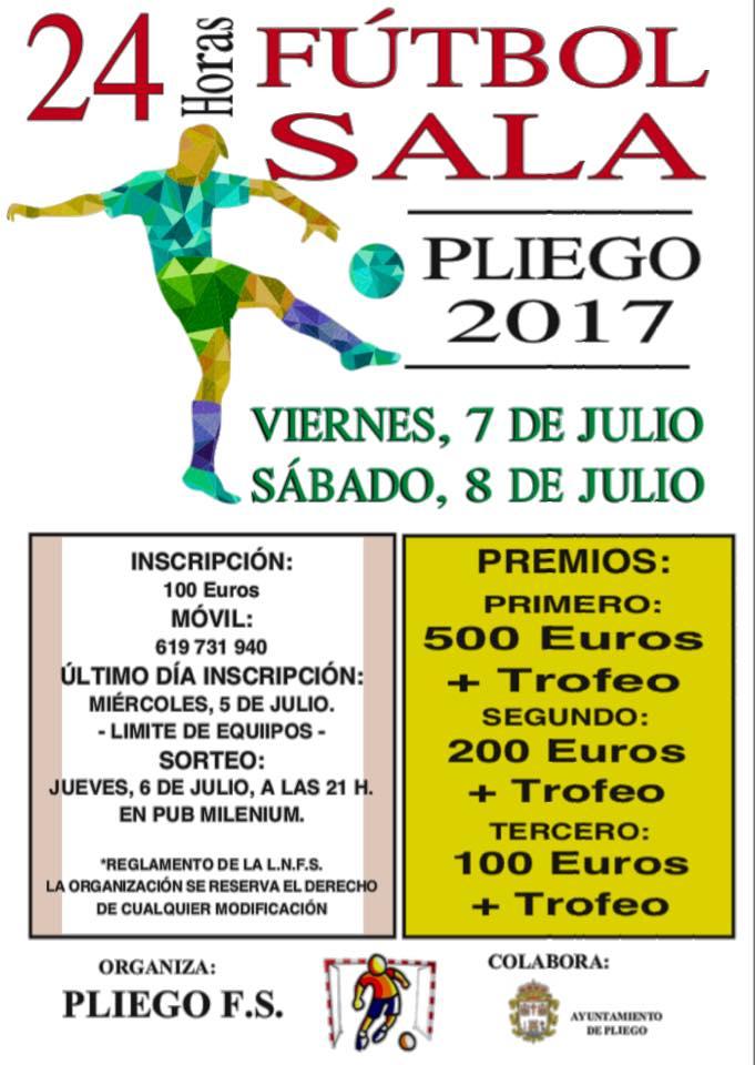 II Edición 24 horas Fútbol-Sala Villa de Pliego