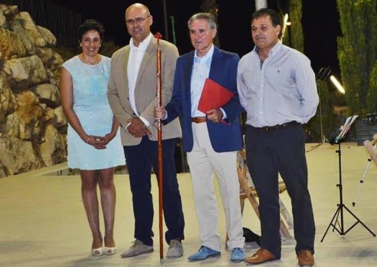 Inicio de Fiestas de Santiago Apóstol con lectura de Pregón, a cargo de D. Julián Párraga González.