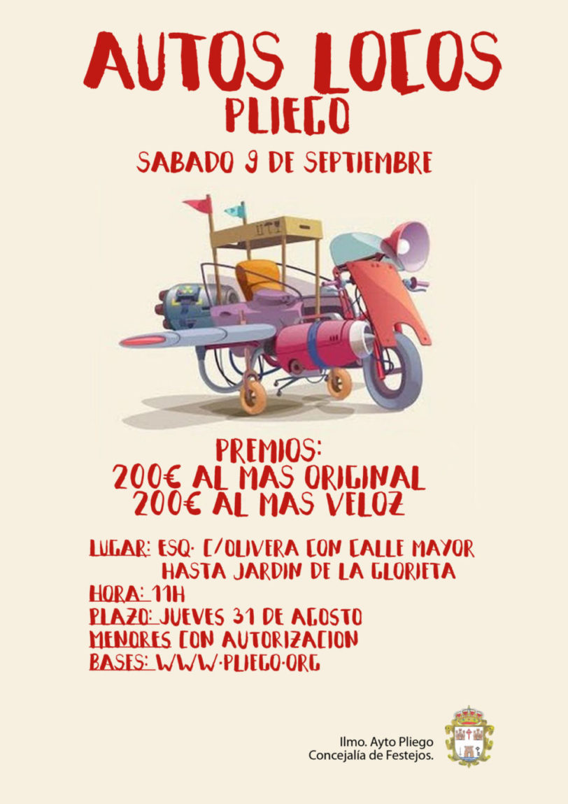 Concurso Autos Locos Fiestas Patronales 2017