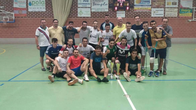 Entrega de premios del campeonato de 24 horas de Fútbol-Sala