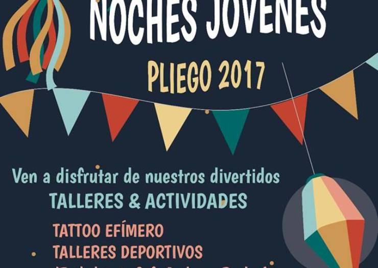 """Inicio de los talleres y actividades """"Noches Jóvenes"""" en el Jardin de la Glorieta"""