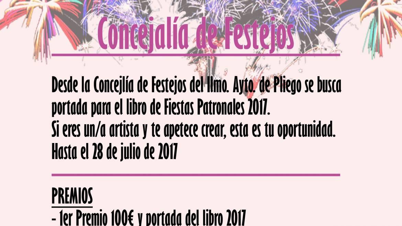 """Exposición de trabajos y entrega de premio de concurso """"Portada Libro Fiestas Patronales 2017"""""""