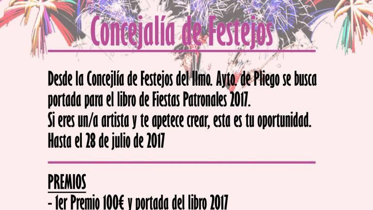 Exposición de trabajos y entrega de premio de concurso «Portada Libro Fiestas Patronales 2017»