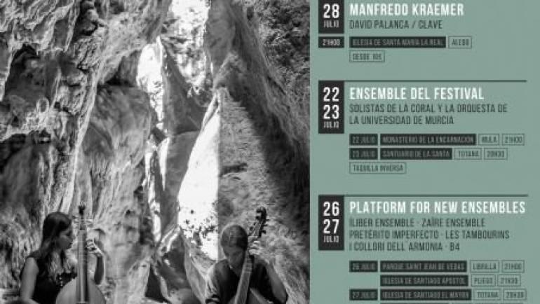 Festival Internacional de Música Antigua de Sierra Espuña (del 20 al 29 de julio)