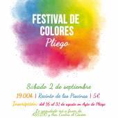 Festival de Colores en Pliego