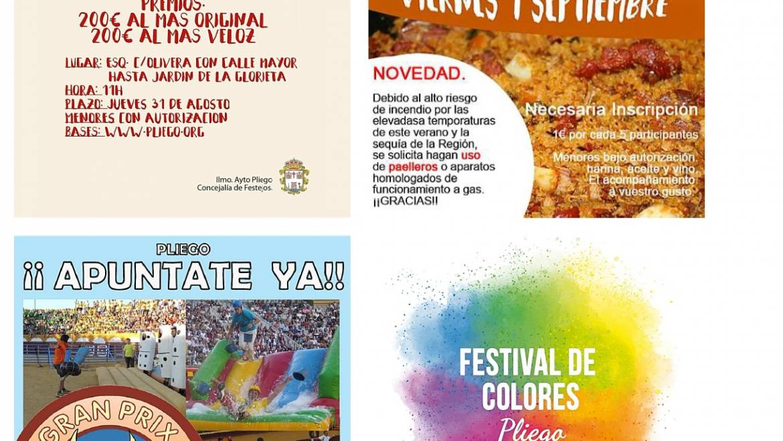 """Bases, inscripciones y autorizaciones para participar en las actividades programadas para las """"Fiestas Patronales 2017"""""""