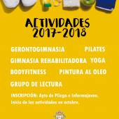 Actividades municipales 2017-2018