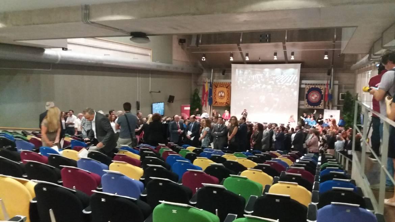 Acto de apertura del curso académico 2017/2018 de las universidades públicas de la Región de Murcia.