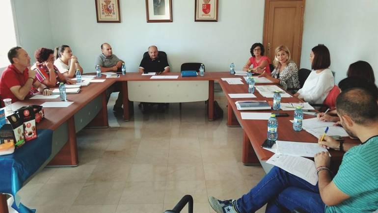 Reunión de la Mesa de Coordinación de la Garantía Juvenil Río Mula en Albudeite