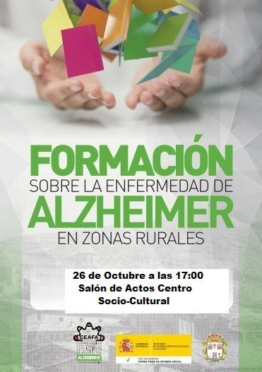 Jornada formativa sobre la enfermedad de alzheimer en Pliego