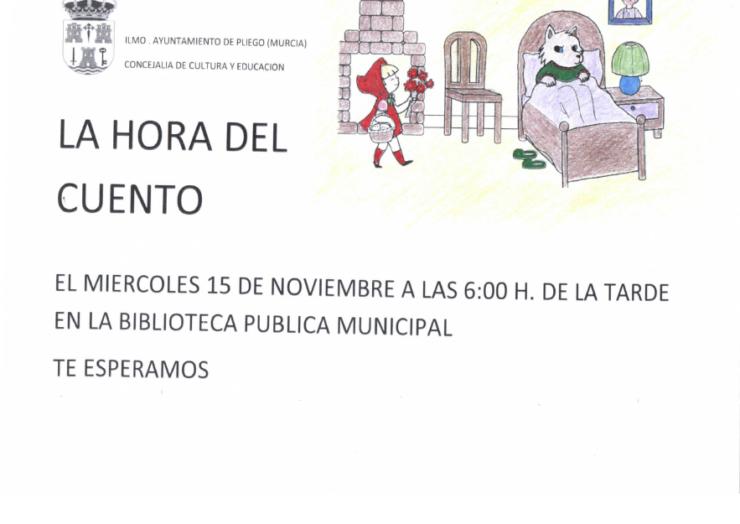 Hora del Cuento en la Biblioteca Municipal