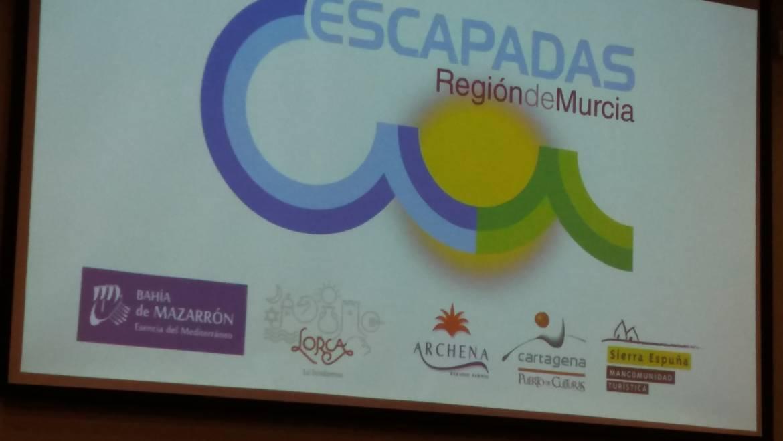 """Presentación del nuevo catálogo 2018 """"Escapadas Región de Murcia"""""""