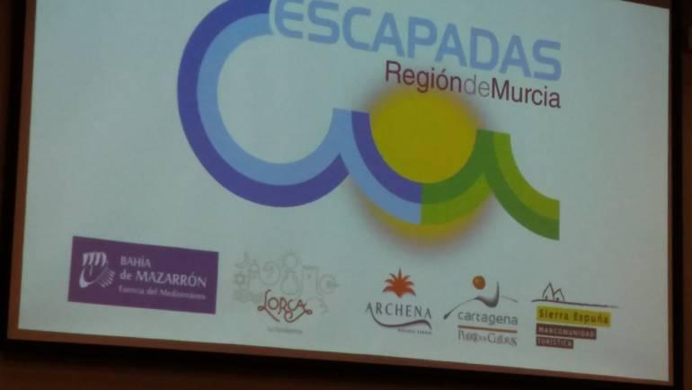 Presentación del nuevo catálogo 2018 «Escapadas Región de Murcia»