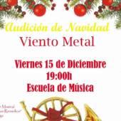 Audición de Navidad: viento metal