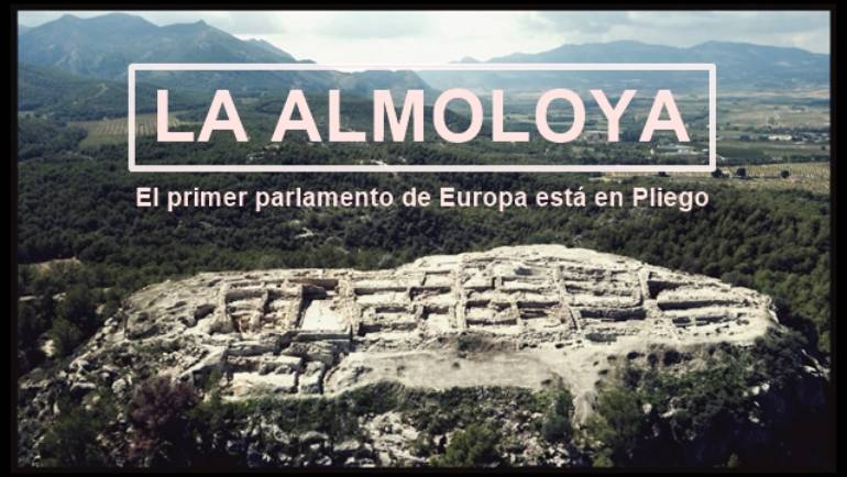 Tráiler del video con el que Pliego se promocionará mañana en FITUR centrándose en el primer parlamento de Europa descubierto en La Almoloya