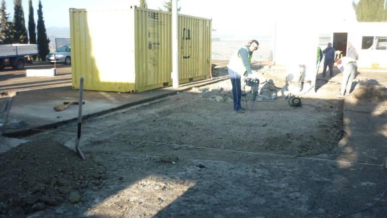Se inicia la remodelación del ecoparque y de una vivienda para realojo social en la calle Parras