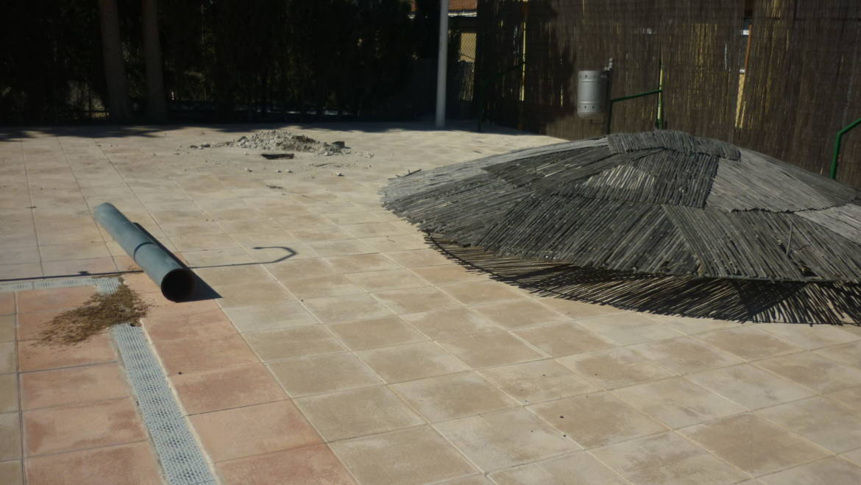 Se están realizando reformas en la piscina municipal