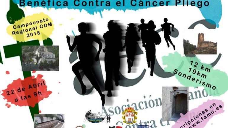 Se espera una gran movilización en Pliego para la Carrera Benéfica contra el cáncer de este domingo