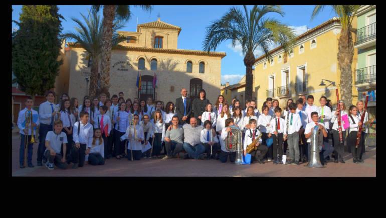 Magnífico nivel en el I Festival de Bandas Juveniles 'Villa de Pliego'