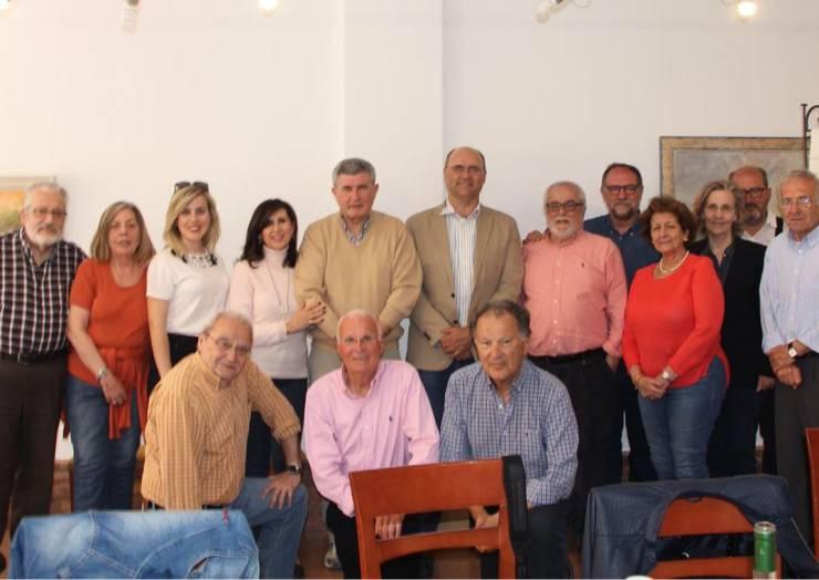 Ilustre visita a Pliego de miembros de la Academia Alfonso X El Sabio