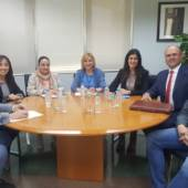 Reunión de la Mancomunidad de Servicios Sociales en Murcia para políticas de conciliación de la vida familiar