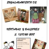 I Concurso de Engalanamiento de ventanas y balcones San Isidro 2018