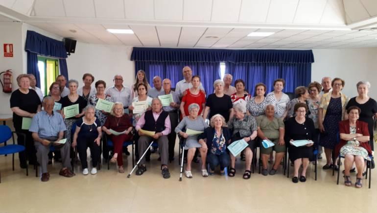 Concluyen los talleres para personas mayores del Servicio de Prevención de la Dependencia