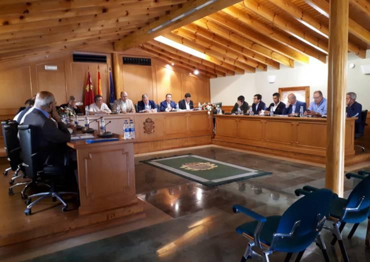 El Sindicato Central de Regantes del Trasvase Tajo-Segura ha realizado hoy una reunión extraordinaria en Pliego
