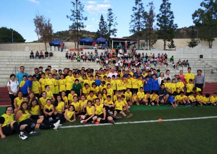 La AD Pliego celebró el 1º Torneo Benjamín de fútbol y el final de la temporada