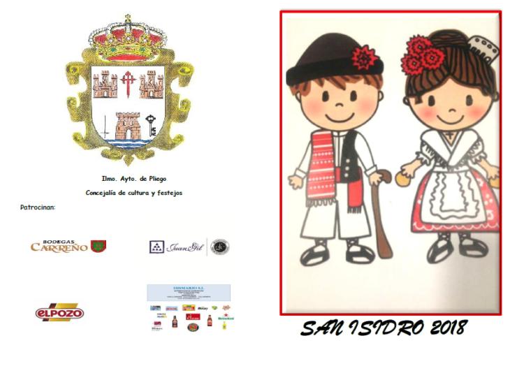 Consulta aquí toda la programación de San Isidro 2018