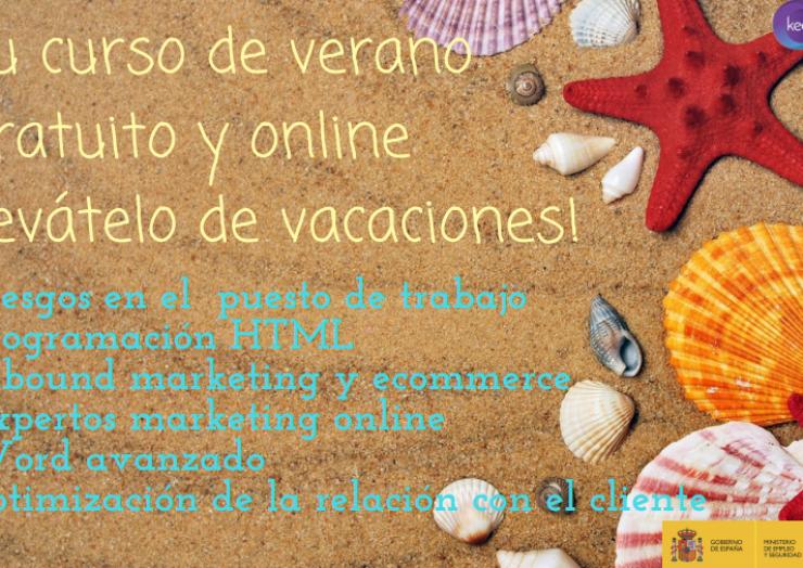 El Ayuntamiento de Pliego informa de estos diferentes cursos de verano gratuitos y online