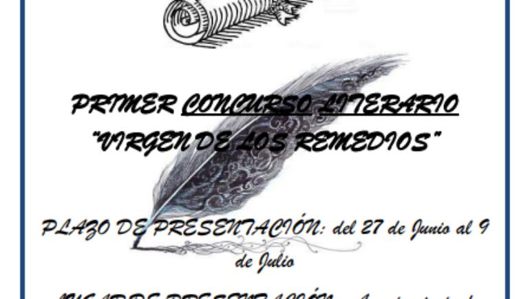 Estas son las bases de I Concurso Literario Virgen de los Remedios