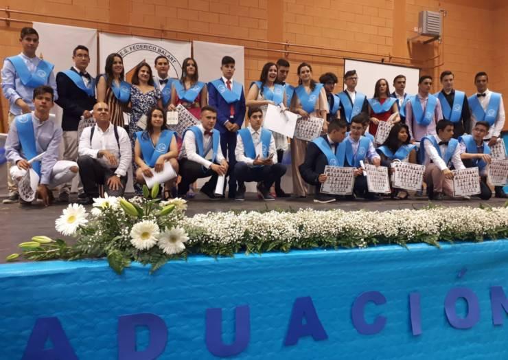 Se celebró la Graduación de ESO, Bachillerato y FP en el Instituto Federico Balart