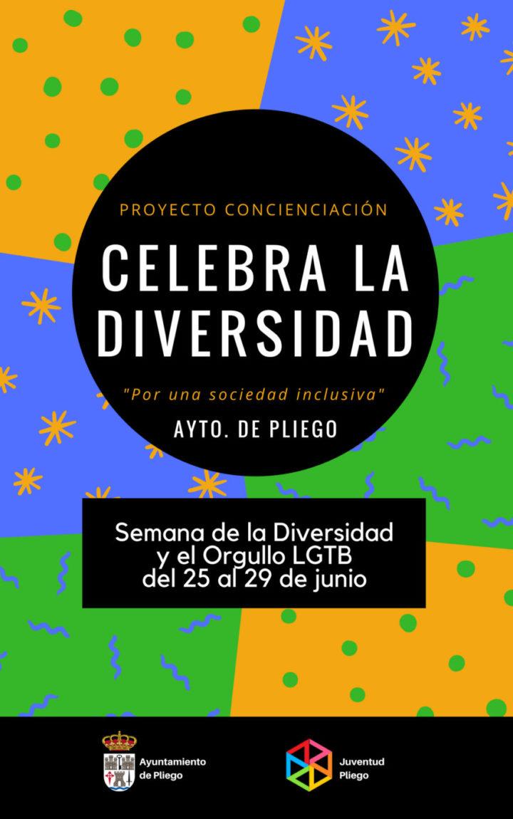 Pliego celebra la Semana de la Diversidad y el Orgullo LGTBI a partir de este lunes