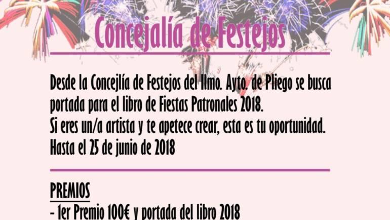 ¡Se busca portada para los libros de Fiestas 2018!