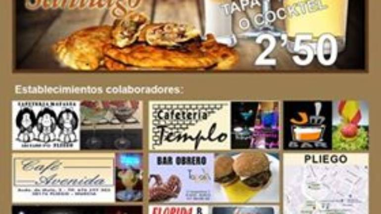Este fin de semana comienza la 3ª Ruta Gastronómica con motivo de las Fiestas de Santiago
