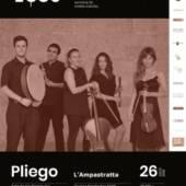 Concierto del ECOS Festival en Pliego